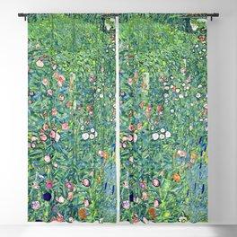 Gustav Klimt Italian Garden Blackout Curtain