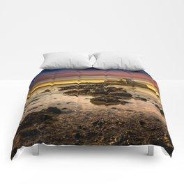 St Cwyfan Sunset Comforters