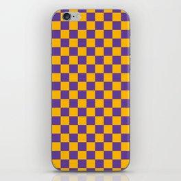 Checkered Pattern II iPhone Skin