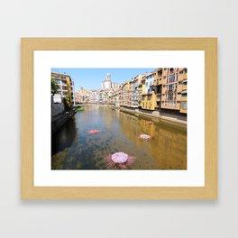 Girona Framed Art Print