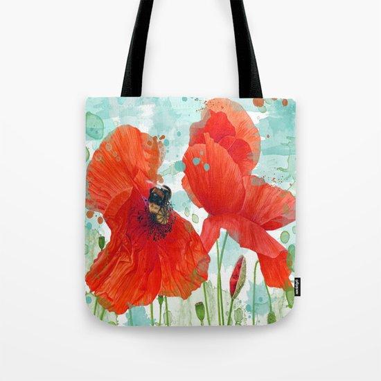 Poppies 02 Tote Bag