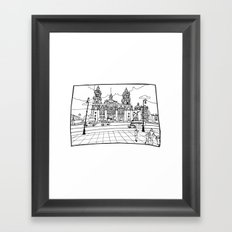 Mexico City´s cathedral Framed Art Print
