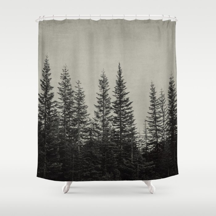 The Edge Of Forest Shower Curtain