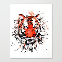 tigerish Canvas Print