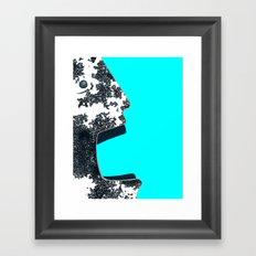 Hhhh... (silence) Framed Art Print