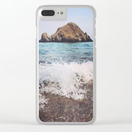 Rock on Clear iPhone Case