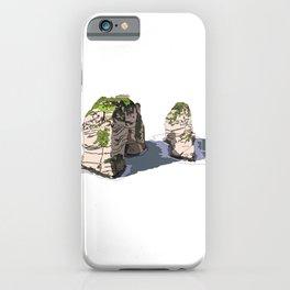Pigeon Rocks, Lebanon iPhone Case