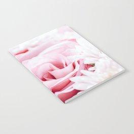 Pink Roses and Gerbera Daisy Flowers Wedding Bouquet, Love Photo, Romantic Celebration, Wall Art Notebook