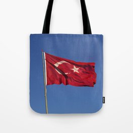 Flag Of Turkey Tote Bag