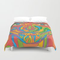 the xx Duvet Covers featuring XX by yhello designer
