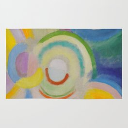 "Robert Delaunay ""Colored Discs"" Rug"