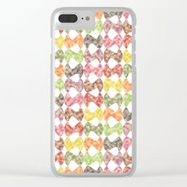 Pattern #46 Clear iPhone Case