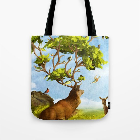 The Forest of Songs Tote Bag
