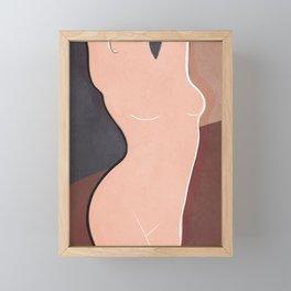 Woman Framed Mini Art Print