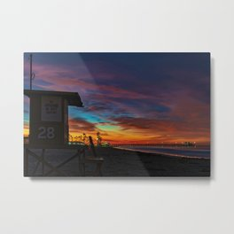 Tower 28 Sunrise Metal Print