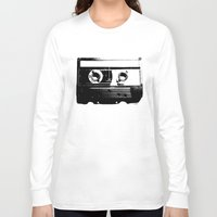 cassette Long Sleeve T-shirts featuring CASSETTE by by INK! - Sandie Dolleris Thomsen