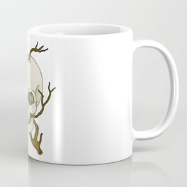 Skull and tree Coffee Mug