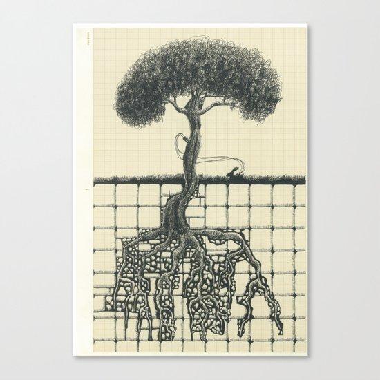 Artificial Tree N.15 Canvas Print