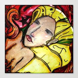 Lucky's Angel Canvas Print