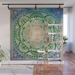 Metta Mandala, Loving Kindness Meditation Wall Mural