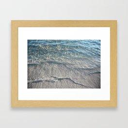 Water Photography Beach Framed Art Print