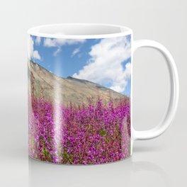 Fuchsia Mountain Flowers Coffee Mug