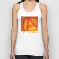 anarchy Tank Tops featuring anarchy by XiXi