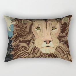 Andrew's Mane Story Rectangular Pillow