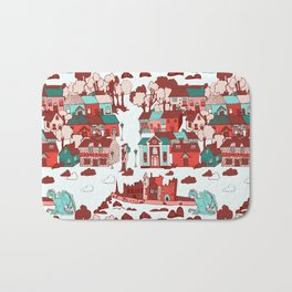 Cashel of The Kings Strong Color Option Bath Mat