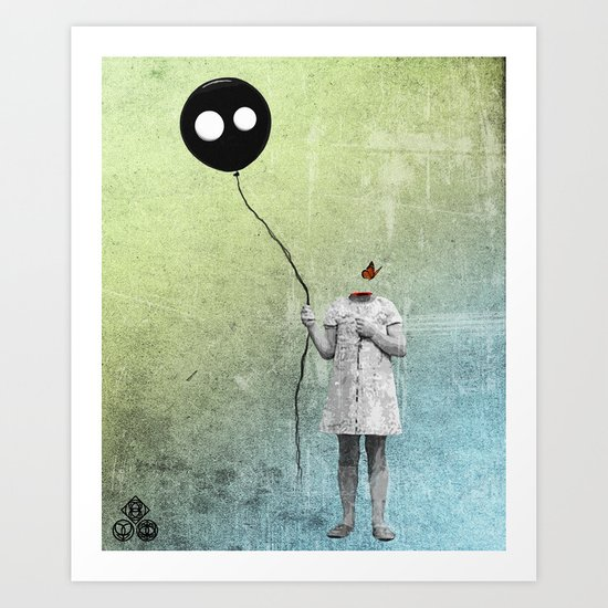 not letting go Art Print