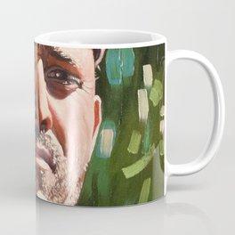 Male portrait with cap Coffee Mug
