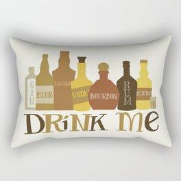 Drink Me Rectangular Pillow