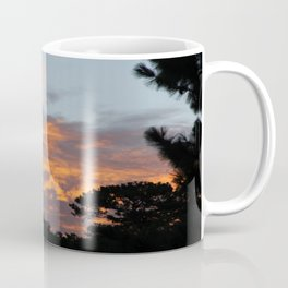 There is fire in the Sky. Sunset series Coffee Mug
