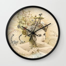 Animal princess Wall Clock