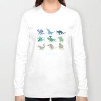 kaiju Long Sleeve T-shirts featuring Kaiju Cutie by Glassraptor