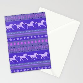 Horse Pattern Stationery Cards