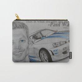 Paul Walker Tribute Carry-All Pouch