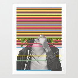 Blnd Art Print