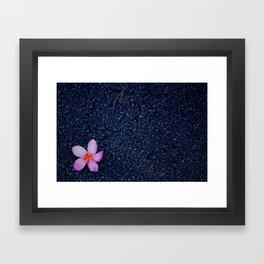 hawaii flower Framed Art Print