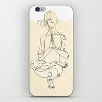 yoga iPhone & iPod Skins featuring Yoga by Timoismen