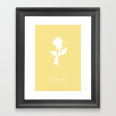 Enchanted Rose Framed Art Print