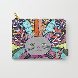 Carnival Cat Carry-All Pouch