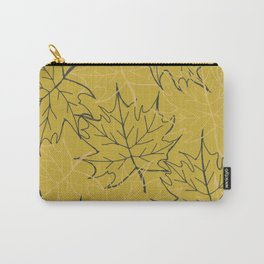 Leaf gold pattern Carry-All Pouch