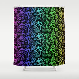 Joshua Tree Colores By CREYES Shower Curtain