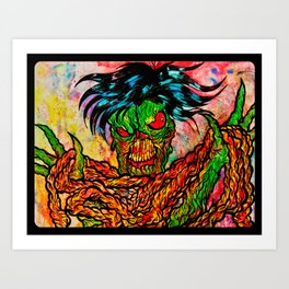 I love your guts !!! Art Print
