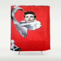 pride Shower Curtains featuring Pride by Mimi Rico