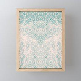 freestyle pattern Framed Mini Art Print