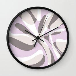 Blushing Wave Wall Clock