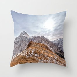 mountain landscape 7 Throw Pillow
