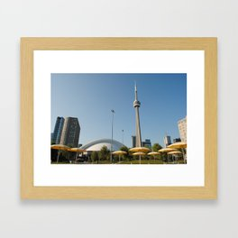 CN Tower Framed Art Print